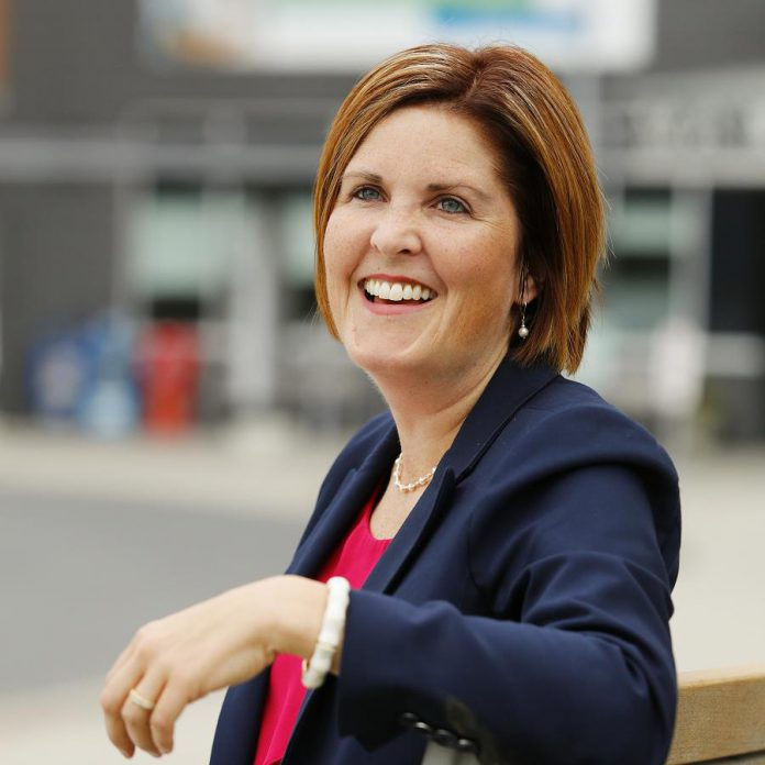 In her role as President and CEO of the Peterborough Regional Health Centre Foundation, Lesley Heighway leads team of professionals and volunteers who have raised between $4 and $5 million every year for the hospital. (Photo: PRHC Foundation)