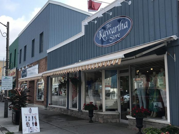 The Kawartha Store is located at 30 Colborne Street in Fenelon Falls, and also offers online shopping at www.thekawarthastore.ca.
