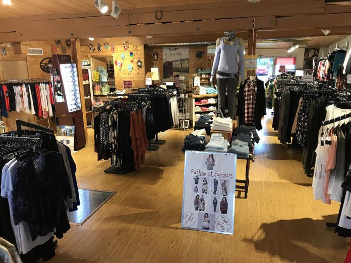 The Kawartha Store promotes Canadian designers and Canadian-made designs, offering as wide a selection as possible.