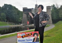 Veteran realtor Maureen Tavener broke new ground for women in business as the president of the Women's Advertising and Sales Association in the 1970s. She was also a trained dance instructor and a former professional dancer, restaurateur, and chicken farmer. (Photo: Jeanne Pengelly / kawarthaNOW)