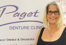 Kim Paget, owner and operator of Paget Denture Clinic, with locations in Peterborough and Lakefield. (Photo: Cynthia Sager, snapd Peterborough)