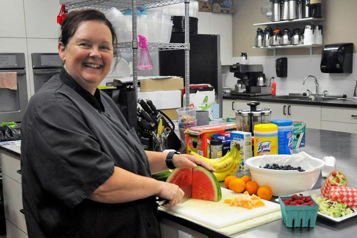 Tracey Ormond decided to launch That's a Wrap Catering Company in 2013 after six years as a long-haul trucker. She loves how her business allows her to be part of the community while providing healthy catering options for residents and businesses in Peterborough.