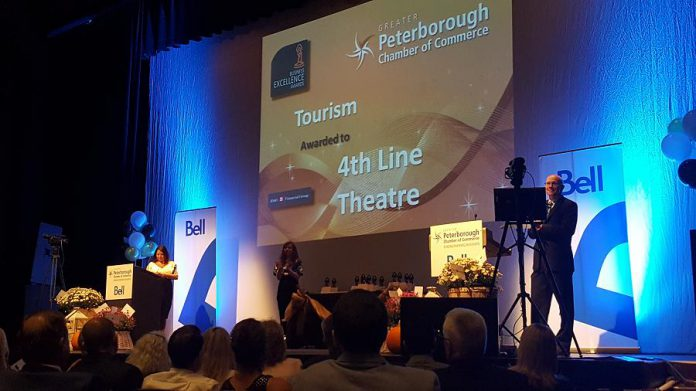 4th Line Theatre in Millbrook won the Tourism award. (Photo: Jeannine Taylor / kawarthaNOW.com)