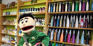 Eric the Recycle Ranger will be at the GreenUP Store (378 Aylmer St. N., Peterborough) from October 16th to 21st for Waste Reduction Week. Kids of all ages are invited to take the Waste Reduction Challenge, win prizes including a PlanetBox, stainless steel straws, books, and more, and to reduce household waste. (Photo: GreenUp)
