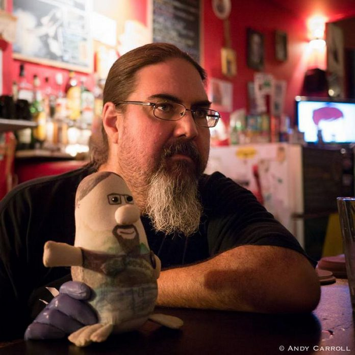 Dave Tobey, owner of The Spill in downtown Peterborough. (Photo: Andy Carroll)