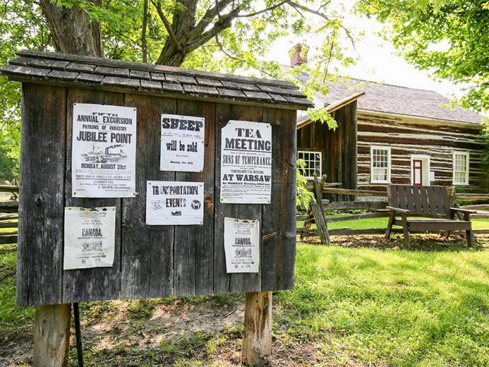 Lang Pioneer Village Museum in Keene, which recently won Attractions Ontario's Ontario Choice Awards as Top Small Museum/Art Gallery/Historic Site, is one of the finalists in the Tourism/Hospitality Excellence category for the Kawartha Chamber's 2017 Awards of Excellence. The award recipients will be announced on November 3. (Photo: Lang Pioneer Village Museum)
