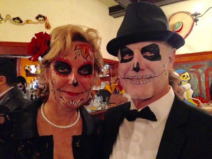 La Hacienda's annual Day of the Dead party is known for great costumes and atmosphere. (Photo: La Hacienda Mexican Restaurant)