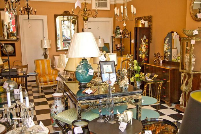 Marie Cluthé Antiques & Collectibles recently opened its door to lovers of period pieces, art, furniture, lighting and mirrors in downtown Peterborough. (Photo: Marie Cluthé Antiques & Collectibles / Facebook)