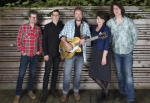 """Canadian roots rockers Skydiggers return to Peterborough with a concert at Market Hall on November 29th in support of their just-released record """"Warmth of The Sun"""". (Publicity photo)"""