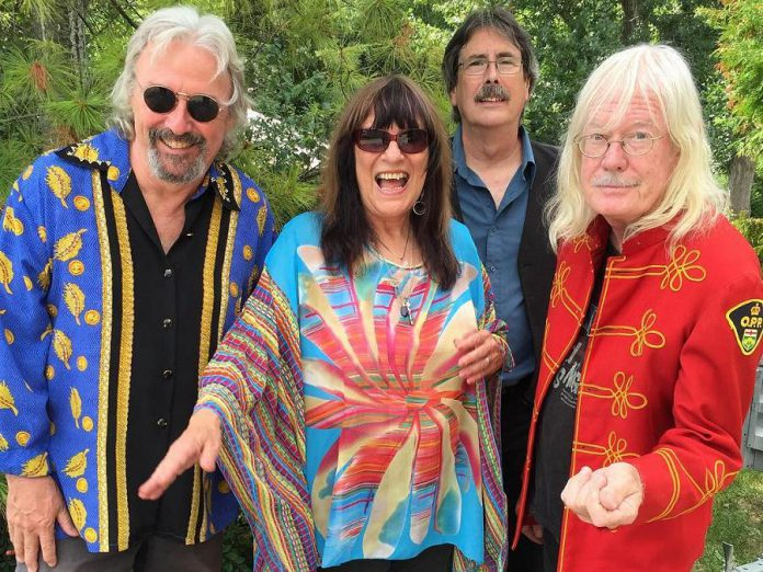 The Rick & Gailie Band (Alan Black, Gailie Young, Richard Simpkins, and Rick Young) in September 2016. (Photo: The Rick & Gailie Band)