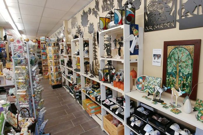 The gift store also has unique items including fragrances, wind chimes, bath products, jewelry, Happy Socks, Tilley hats and unique metal wall art. (Photo: Paula Kehoe)