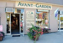 Located at 165 Sherbrooke Street in downtown Peterborough, The Avant-Garden Shop specializes in home and garden decor and accessories, backyard bird supplies, and art pieces from more than 75 Canadian artisans and some from abroad. (Photo: The Avant-Garden Shop)