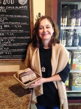 Sherrie Le Masurier has launched Simply Natural Canada, offering artisan soap made from natural ingredients. (Photo: Sherrie Le Masurier / Facebook)