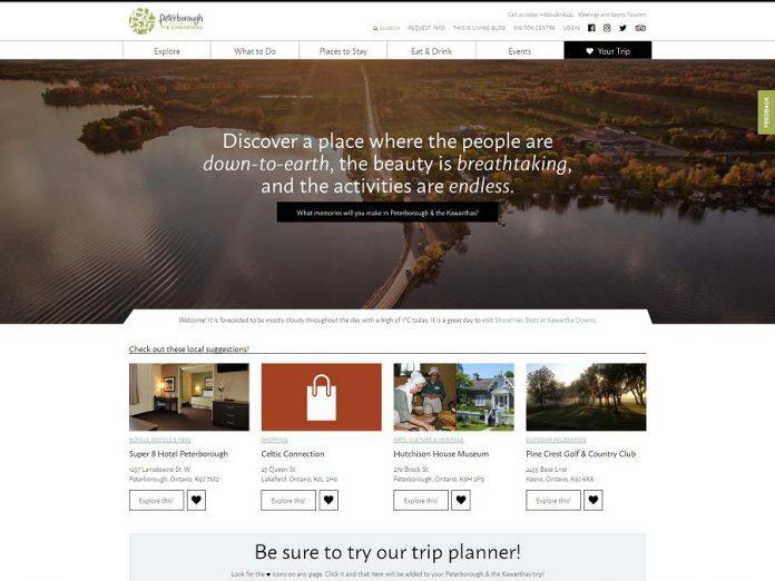 Peterborough & the Kawarthas Tourism website