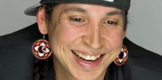 Sudbury's Bryden Gwiss Kiwenzie, who was nominated for Indigenous Music Album of the Year at the 2017 Juno Awards, is one of many hip hop artists and rappers who will be performing at Hip Hop Unlimited at The Venue in downtown Peterborough on Saturday, November 25th. The fundraiser features a family-friendly dance event followed by a hip hop musical extravaganza. (Publicity photo)