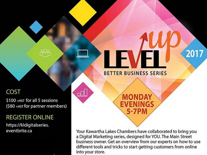 Level Up is a digital marketing series  designed for the average business owner.