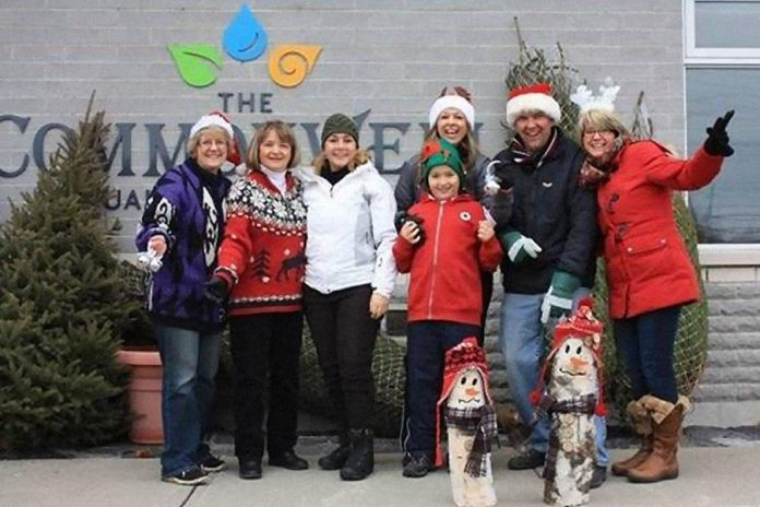 For the past four years, the Commonwell Mutual Insurance Group has been supporting charities by giving away Christmas trees to residents in each of the three communities where they have offices. (Photo: The Commonwell Mutual Insurance Group)