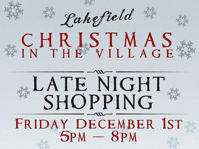 Late Night Shopping in Lakefield