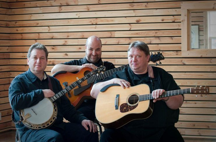 Jens Kruger, Joel Landsberg, and Uwe Kruger are The Kruger Brothers, who will be performing a special benefit concert at the Market Hall on Wednesday, November 15th presented by Kawartha Cardiology Clinic. (Publicity photo)