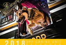 The OPP Canine Unit 2018 calendar is raising funds for the OPP Youth Foundation and Friends of the OPP Museum. The $15 calendar is available at OPP detachments across Ontario. (Photo: OPP)