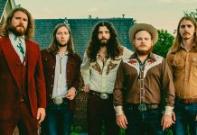 The Sheepdogs, including their newest member Jimmy Bowskill of Bailieboro, will be performing at Showplace Performance Centre on March 6, 2018. (Publicity photo)