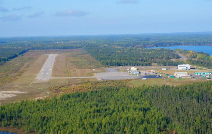 Peterborough-based Loomex Group will be managing and operating the Greenstone Regional Airport (pictured) as well as the R. Elmer Ruddick Nakina Airport. (Photo courtesy of the Loomex Group)