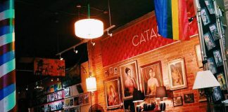 Catalina's at 131 Hunter Street West in downtown Peterborough is closing this month. The combination hair salon, vintage store, bar and live performance space is known for hosting arts, music, and social events. (Photo: kitnotmarlowe / Instagram)