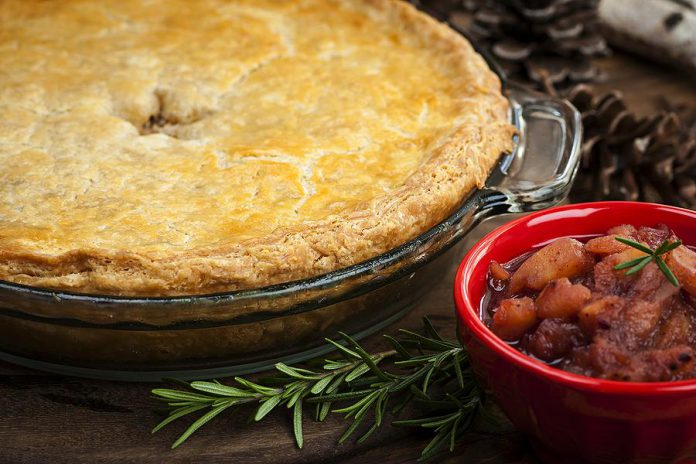 Tourtière is a tradition for many families over the holidays, but you don't necessarily need to be a great cook to serve a great tourtière. Both Primal Cuts in Peterborough and The Bridgenorth Deli in Bridgenorth make their own tourtière.