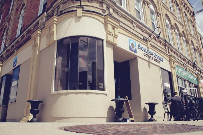 Boiling Over's Coffee Vault is located in downtown Lindsay. (Photo: Boiling Over's Coffee Vault)