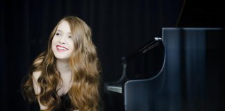 """Toronto pianist Anastasia Rizikov will join the Peterborough Symphony Orchestra to perform Gershwin's """"Rhapsody in Blue"""" at Paris Bustle & Blue on Saturday, February 3rd at Showplace Performance Centre in downtown Peterborough. (Photo: Bo Huang)"""