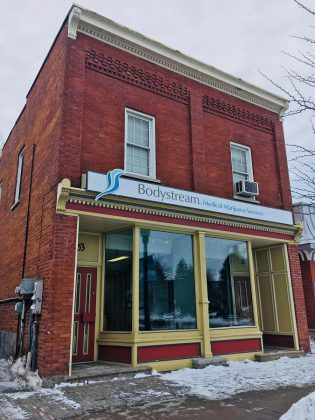 Bodystream Medical Marijuana Services' new location is at 53 Hunter Street East in Peterborough's East City. (Photo: Bodystream)