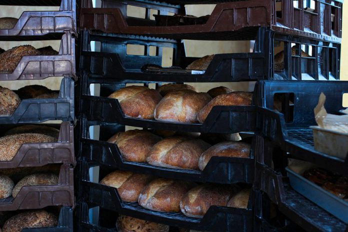 Hard Winter Bread Company's products are sold at farmers' markets and selected restaurants and specialty food shops in the Kawarthas year-round.  (Photo courtesy Hard Winter Bread Company)