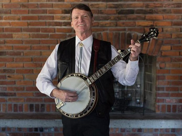 Banjo player Gerry Mitchell, who was a member of the Northland Ramblers and organized the weekly Kitchen Party Music Jams across central Ontario, died in November at the age of 63. (Photo: Kitchen Party Music Jam / Facebook)