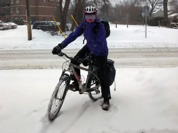International Winter Bike to Work Day is on Friday, February 9th, 2018. Adults shouldn't feel left out of the active transportation celebrations this winter. GreenUP's Jaime Akiyama has recently switched to commuting by bike in winter; she enjoys winter cycling because it adds physical activity into her daily routine and winter fun to each day.  (Photo: GreenUP)