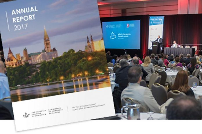 Canada Chamber of Commerce annual report