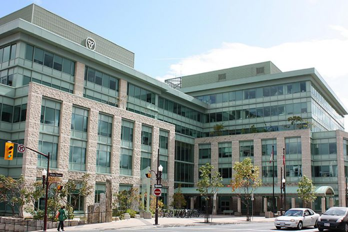 The headquarters of the Ministry of Natural Resources and Forestry is located at Robinson Place at 300 Water Street in downtown Peterborough. (Photo: Infrastructure Ontario)