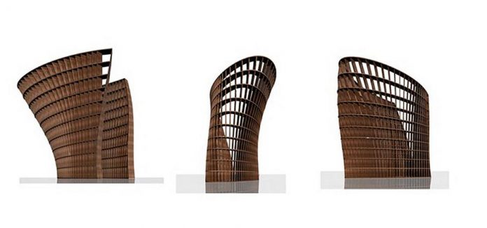 "Other views of Patrick Li's design for his ""Your Story"" sculpture. A five-member selection committee selected Li's design from 20 submissions received from artists and designers across the province.  (Image: Patrick Li)"