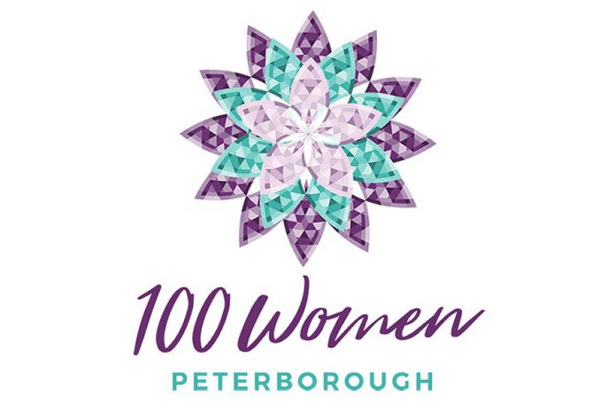 100 Women Peterborough logo