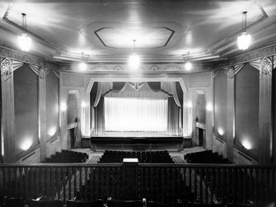 Renovations at historic academy theatre in lindsay almost for 02 academy balcony