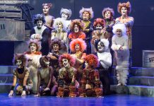 """The Musical of Andrew Lloyd Webber in Concert"" features 13 performers singing sones from all 16 shows written by Andrew Lloyd Webber during his career, including from hit shows like ""Cats"" (as shown here in the 2015 Peterborough Theatre Guild production) as well as more obscure productions like 2015's ""The Likes of Us"". Tickets are still available for the one-night-only performance on February 23, 2018 at Showplace Performance Centre. (Photo: Linda McIlwain / kawarthaNOW)"