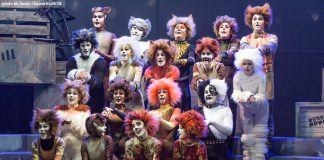 """""""The Musical of Andrew Lloyd Webber in Concert"""" features 13 performers singing sones from all 16 shows written by Andrew Lloyd Webber during his career, including from hit shows like """"Cats"""" (as shown here in the 2015 Peterborough Theatre Guild production) as well as more obscure productions like 2015's """"The Likes of Us"""". Tickets are still available for the one-night-only performance on February 23, 2018 at Showplace Performance Centre. (Photo: Linda McIlwain / kawarthaNOW)"""
