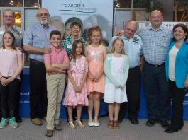Children with the special older persons in their lives at the 2017 Grandparent of the Year awards celebration. Community Care Peterborough is accepting nominations for the 2018 awards until May 16, 2018. (Photo: Community Care Peterborough)