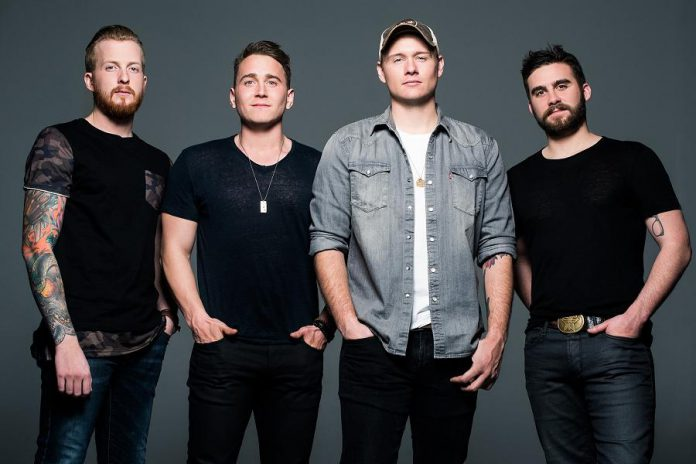 The James Barker Band consists of James Barker, a native of Woodvile in the City of Kawartha Lakes, along with Taylor Abram, Bobby Martin, and Connor Stephen. (Publicity photo)