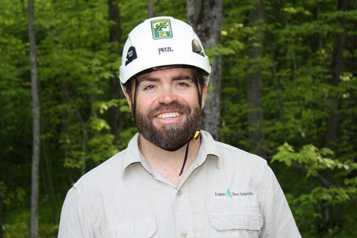 Matt Logan of Logan Tree Experts.