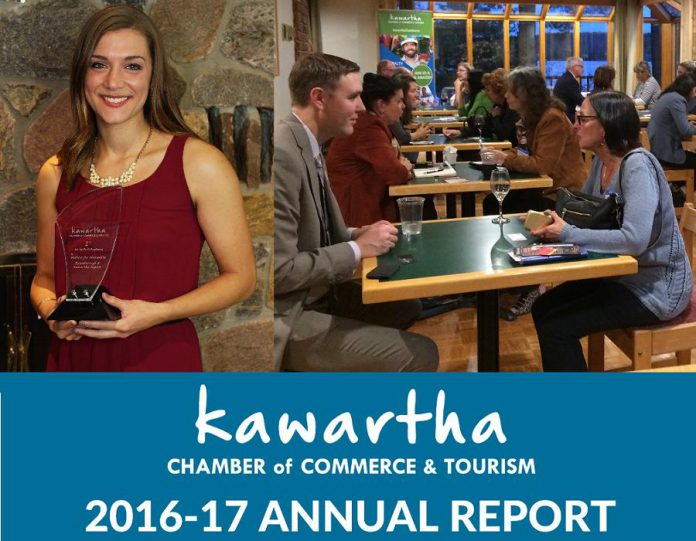 Kawartha Chamber of Commerce & Tourism 2016-17 Annual Report