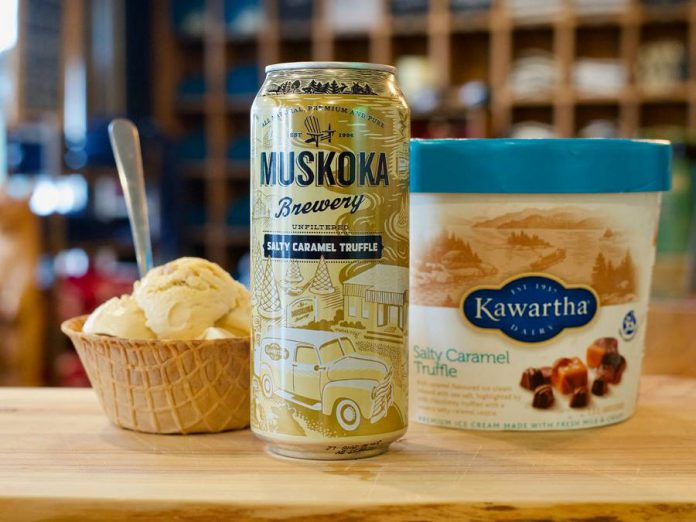 Salty Caramel Truffle by Muskoka Lakes Brewery is a beer that's destined to be paired with ice cream. (Photo: Muskoka Lakes Brewery)