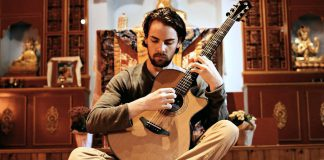 """Bethany native Adam Crossman, who James Keelaghan calls """"so bloody good"""", brings his instrumental fingerstyle guitar to Boiling Over's Coffee Vault in Lindsay on February 23, 2018. Nathan Traux will also be performing. (Photo: Adam Crossman)"""