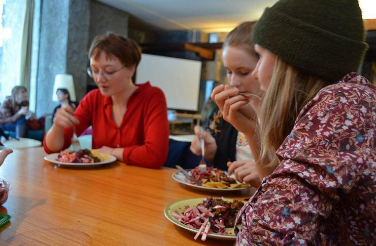 The Seasoned Spoon Café, Trent University's non-profit and cooperative vegetarian café at Champlaign College, celebrates its 15th anniversary with a full day of activities and food on March 9, 2018. (Photo courtesy of The Seasoned Spoon Café)