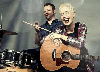 Juno award winning folk-pop duo Big Little Lions (Helen Austin and Paul Otten) perform at The Garnet in downtown Peterborough on Tuesday, March 27th with special guest Mary-Kate Edwards. (Photo: Big Little Lions)