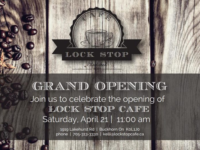 Lock Stop Cafe Grand Opening